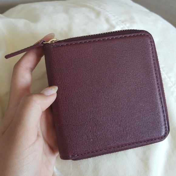 0c3b838b1cdf Barneys New York Handbags - Barneys Burgundy Zip Wallet- 100% Leather